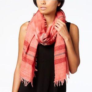 Eileen Fisher Dreamy Wool Stripe Scarf